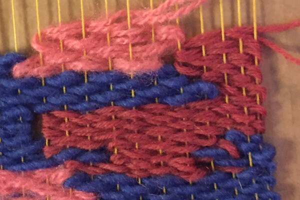 Tillverka en kartongvävstol