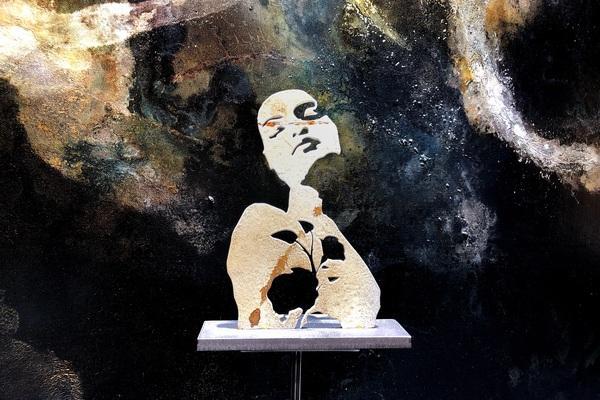 TOMAS LACKE måleri och skulptur