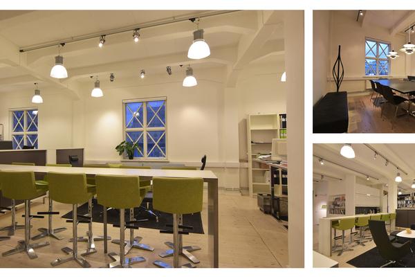 Kreativa hyresgäster sökes till ferrum arkitekters vackra lokal i Lagerhuset, centrala Göteborg.