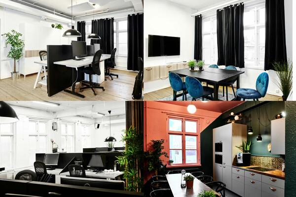 Fasta kontorsplatser hos kontorskollektiv i Gårda
