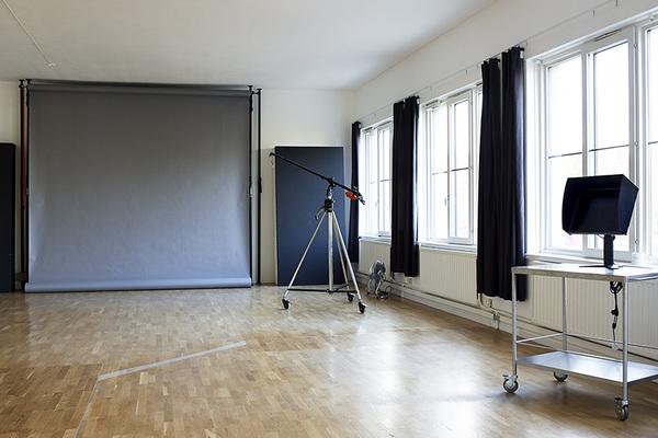Del i kontor och fotostudio