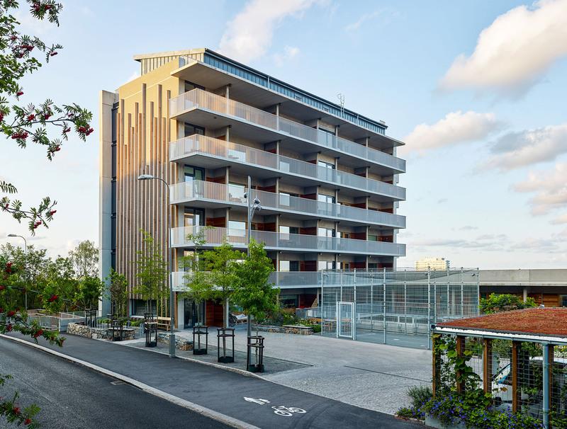 Brf Foto: Viva, Göteborg. Arkitekt: Malmström Edström, beställare: Riksbyggen