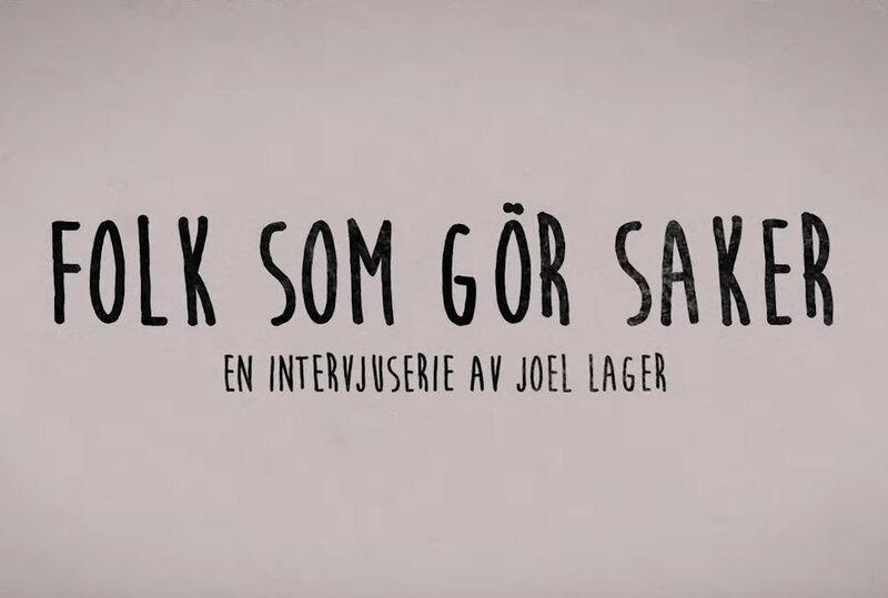 Bild: Folk Som Gör Saker / Joel Lager