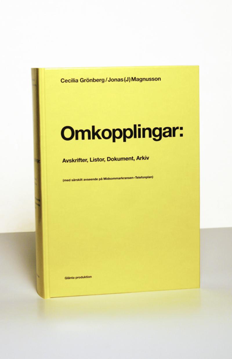 Boken Omkopplingar av Cecilia Grönberg och Jonas Magnusson.
