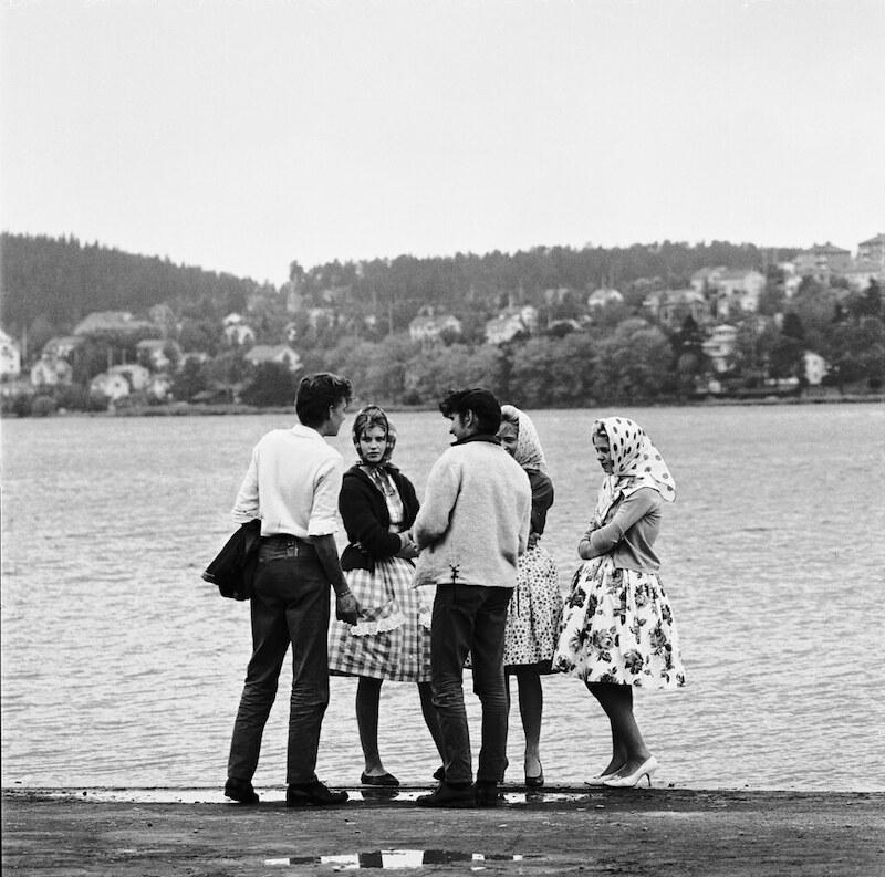 Bild: Nordiska Museet/Flickr The Commons. Foto: Erik Liljeroth, ca. 1960