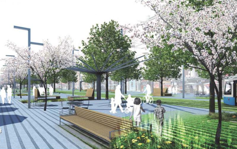Bild: Stadsbyggnadskontoret / White arkitekter