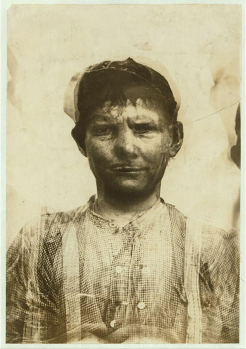 Bild: Lewis Hine's Composite Photographs of Child Labourers (1913) från The Public Domain Review