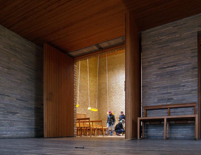 Sigurd Lewerentz, S:ta Gertruds and S:t Knuts kapell, 1935-1943 Bild: seier+seier, Flickr Creative Commons