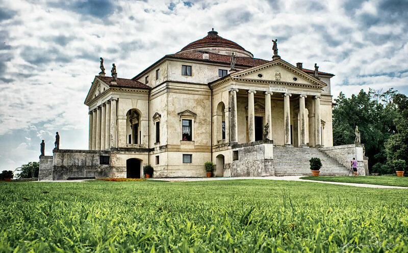 "Palladios Villa Capra ""La Rotonda"". Bild: alfapegaso/Flickr Creative Commons"