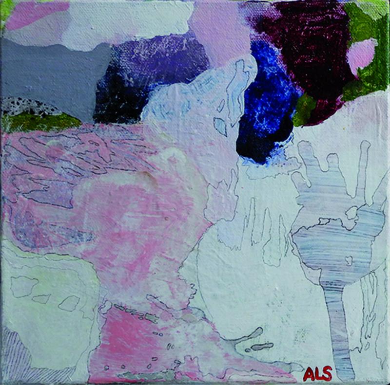 Ann-Louise Sandahl  måleri