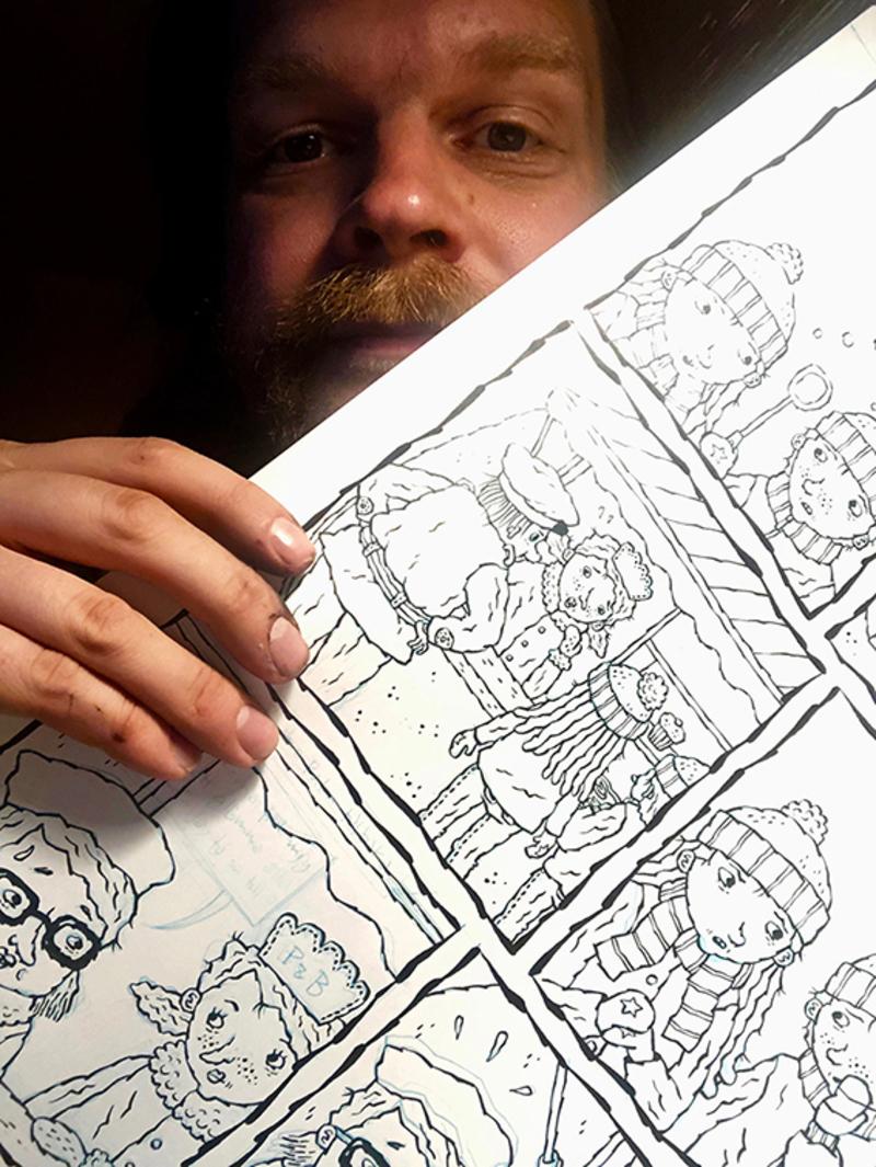 Öppet samtal med serietecknaren Henri Gylander