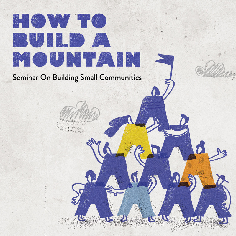 How to build a mountain