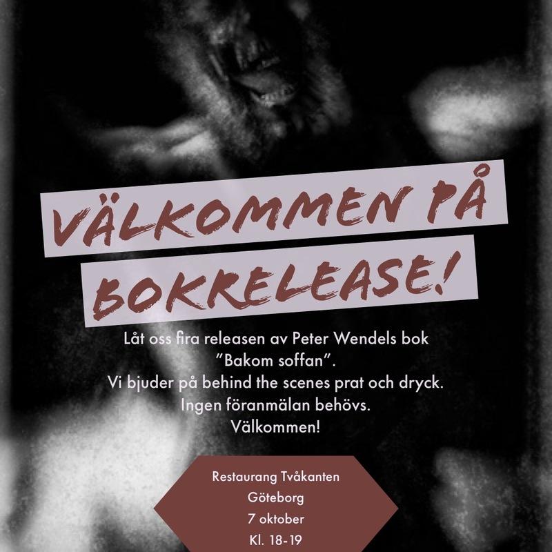 """Boksläpp """"Bakom soffan""""av Peter Wendel"""