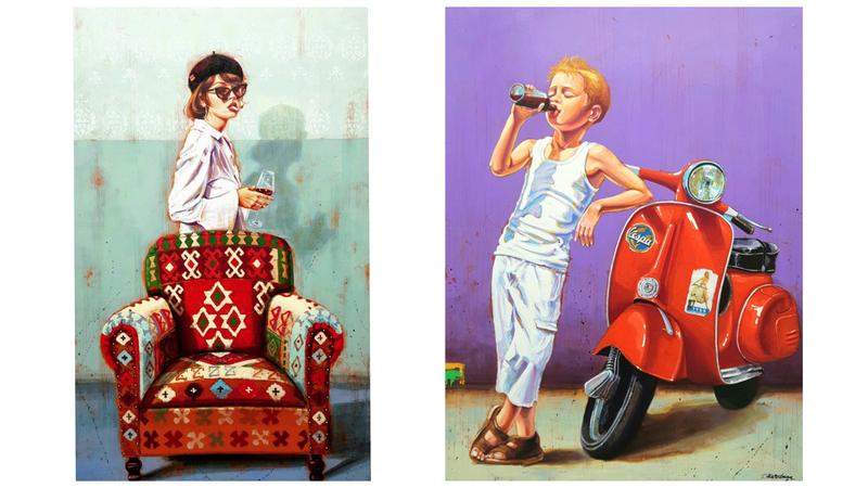 Konstutställning - Tarik Hardaga