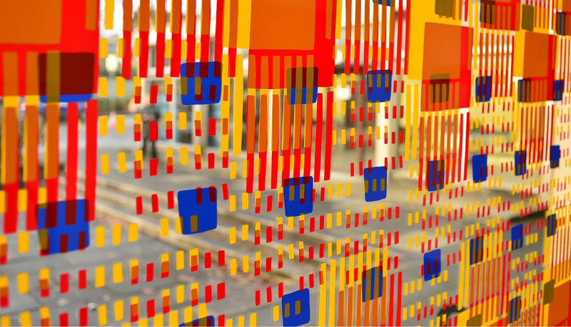 Rachel Barron i ateljén på Borås Konstmuseum