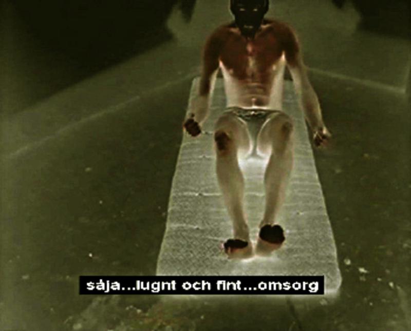 """""""Liten film om M""""  videokonst i corona-tider av Krister Kennedy"""