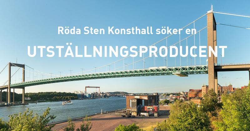 Röda Sten Konsthall söker en utställningsproducent