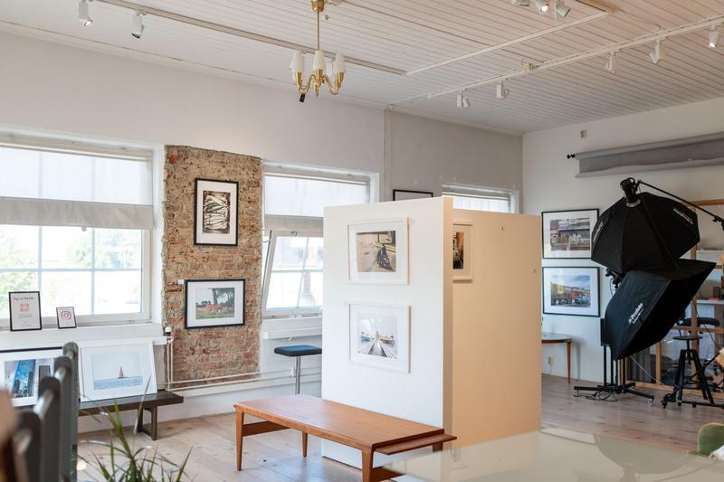 Del i unikt kontor + studio/galleri i Gamlestadens Fabriker