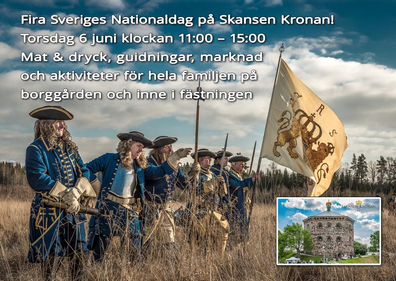 Nationaldagen på Skansen Kronan