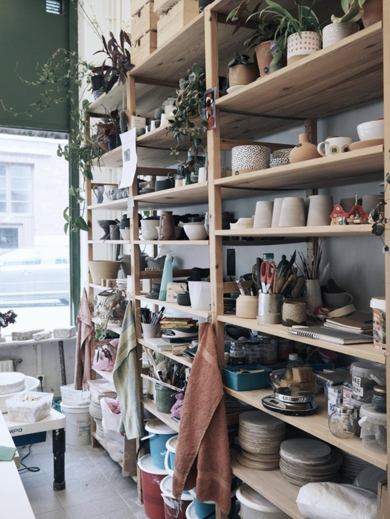 Ledig plats i keramikateljé