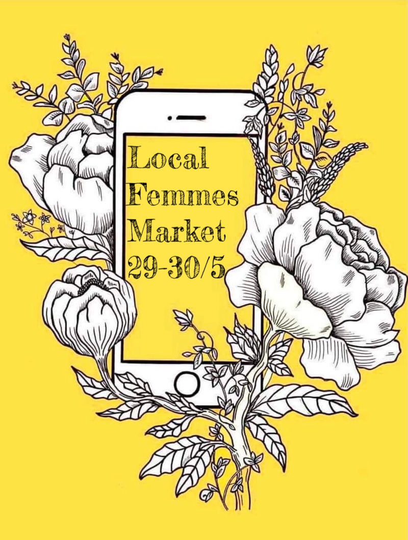 Sommarmarknad med Local Femmes