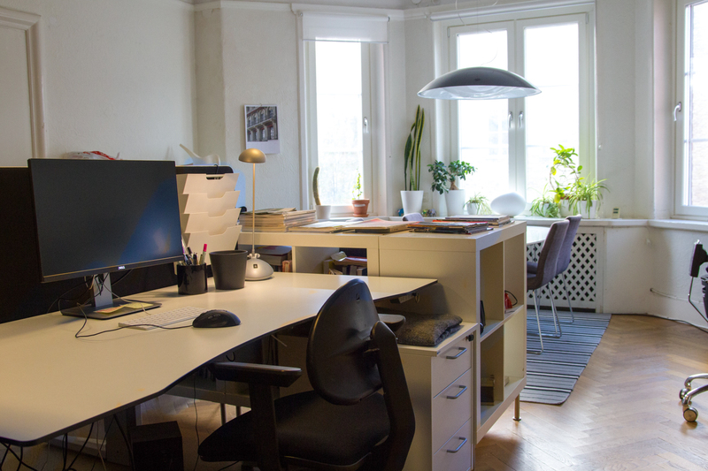 Kontorsplatser i Lorensberg uthyres