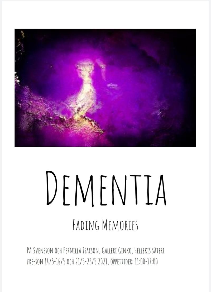 Fotoutställning Dementia