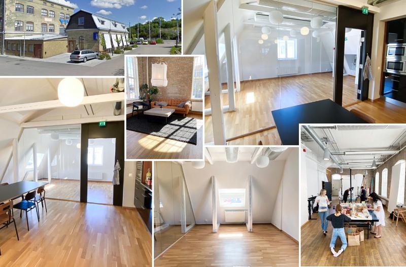 Eget kontorsrum i Almedals Fabriker (delas med fotostudio)