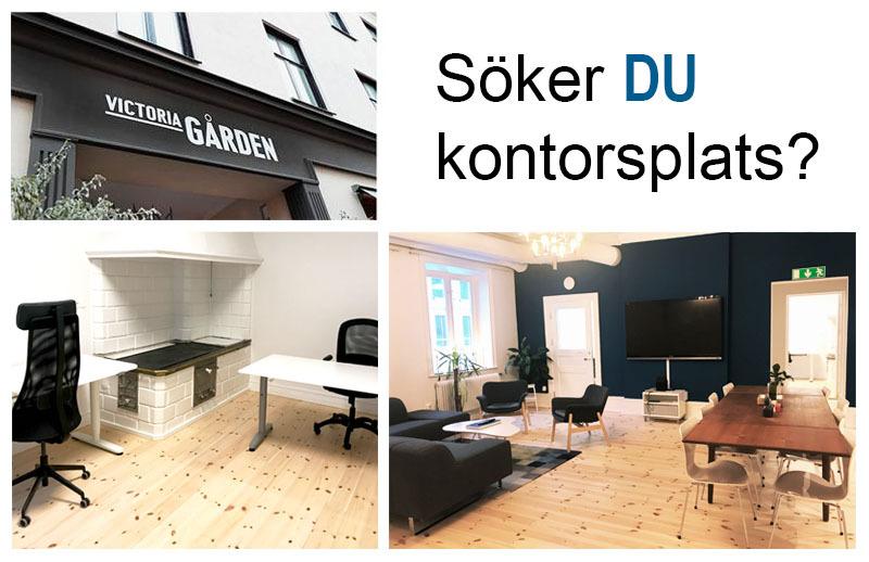 Lediga kontorsplatser i centrala Göteborg