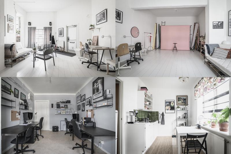 Lediga skrivbords/studioplatser mitt i Majorna