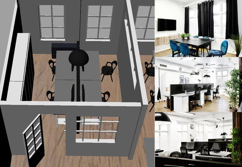 nytt kontorsrum uthyres (2-5 personer)