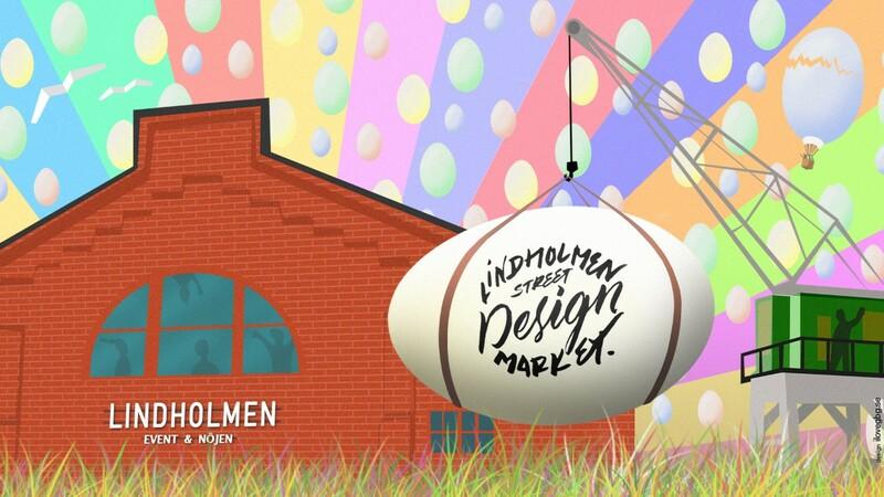 Fira påsk med Lindholmen street design market